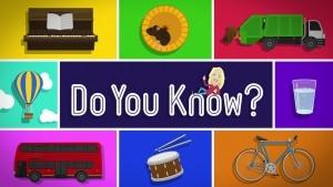 DO YOU KNOW? (1)