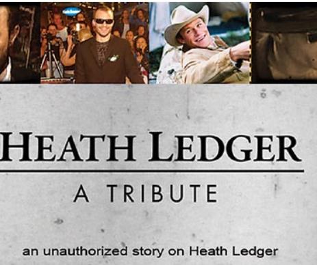 HEATH LEDGER: A TRIBUTE (1)